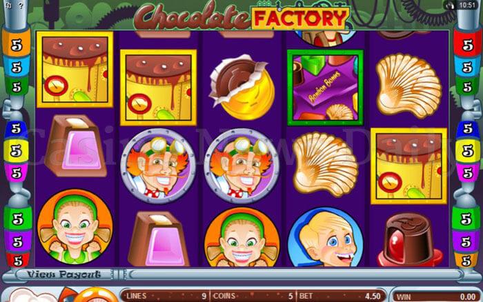 Play Australian Chocolate Factory Online Slot Game